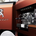 Peugeot Design Shows an Ingenious Foodtruck