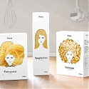 Pasta Packaging Concept - Good Hair Day Pasta