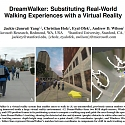 (Paper) Microsoft DreamWalker : Substituting Real-World Walking Experiences with a Virtual Reality