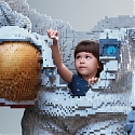"Lego's Brilliant Print Ads From the Cannes Festival - ""Build The Future."""