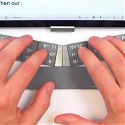 (Video) TextBlade - Next-Gen Portable Physical Keyboard For iPhone 6