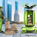 Drone Delivery of the Future - Toyota Gamaru