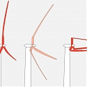Folding, Modular Rotor Blades Designed for Giant Wind Turbines