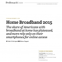 (PDF) Pew - Home Broadband 2015 Report