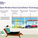 (Video) Noise-Canceling Windows Soften The Sounds of The City