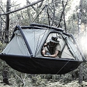 Inflatable Exo Tent Brings a Taste of Glamping to Ground and Trees