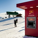 Canadian Ski Resort Now Has Ski-Through ATM