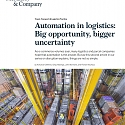 (PDF) Mckinsey - Automation in Logistics : Big Opportunity, Bigger Uncertainty