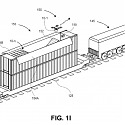 (Patent) Amazon Patent is All Aboard for Launching Delivery Drones from Moving Trains