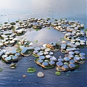 BIG Unveils Floating City Concept Made Up of Hexagonal Islands - OCEANIX