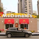 (Video) McDonald's Drive-Thru Actually Drives Up To Diners