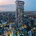 "Gigantic ""Vending Machine"" Skyscraper Dispenses 3D-Printed Homes in Tokyo"