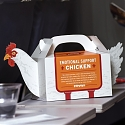 Popeyes Is Offering 'Emotional Support Chicken' to Help Comfort Holiday Travelers