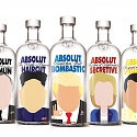 If Absolut Vodka Bottles Were Famous World Leaders
