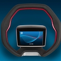 ZF's Concept Steering Wheel Integrates Gesture Control