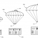 (Patent) Amazon's Delivery Drone Patent Packs a Parachute Into a Shipping Label