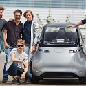 (Video) Uniti One Electric City Car Hits The Streets for The First Time