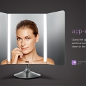 (Video) Makeup Mirror Mimics Lighting Colors That You Provide