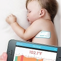TempTraq Stick-On Wireless Temperature Monitor Cleared