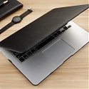 Leather Hard Cover Case for MacBook
