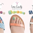 Pre-Painted Toenail Art Stockings Hailed as New Street Fashion Trend
