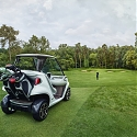(Video) Mercedes Injects Some Automotive Style Into The Humble Golf Cart