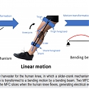 (PDF) Wearable Device Harvests Energy from Bending of the Knee