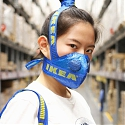 Transformed IKEA's Iconic FRAKTA Bag Into a Face Mask