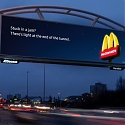These Digital Billboards From McDonald's Change Depending on How Bad the Traffic Is
