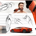 Lamborghini Inspired Electric Shaver