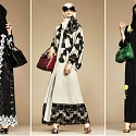 Dolce & Gabbana Launched a Line of Beautiful, High-End Hijabs and Abayas