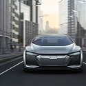 AUDI's All-Electric 'Aicon' Concept Car Promises a Luxurious Autonomous Experience