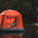 SmithFly Raft-Tent Brings Camping to the Water