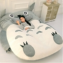 Huge 'Chinchilla Bed' Bears Uncanny Resemblance To Studio Ghibli's 'Totoro'