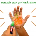 Soap Crayon Encourages Children to Wash Their Hands - Soapen