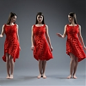 (Video) 3D-Printed Dress Mimics Feathers and Scales to Move With You
