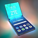 (Patent) ZTE Patent Shows Vertically Foldable Smartphone in the Works