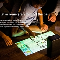 All-In-One Portable Projector Can Turn Any Flat Surface Into a Touchscreen
