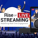 (Infographic) Rise of Live Streaming : Trends & Marketing Tips