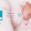 MonBaby Smart Button Monitors Baby's Sleep and Breathing Patterns