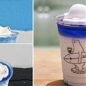 Polar Bears Float Atop Your Drinks In This Charming Café From Taiwan