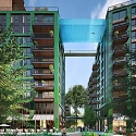 World's First Glass-Bottomed Sky Pool Set to Bridge South London