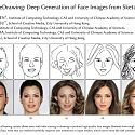 (Paper) DeepFaceDrawing : Deep Generation of Face Images from Sketches