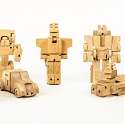 WooBots - Transformable Wooden Robot