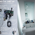 (Video) Google Engineer Invented Homemade Smart Bathroom Mirror