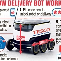 Tesco Makes UK's First Delivery by ROBOT in Trial That Could Change Shopping Forever