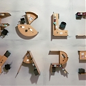 These Animated Alphabet Shaped Desks are Here to Liven Up Your Workspace