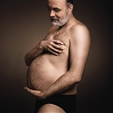 Beer Ad Humorously Shows Glowing Fathers-To-Be With Their Beer Bellies