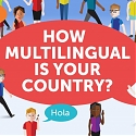 (Infographic) How Multilingual Is Your Country ?