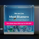 (Video) Bluenero Smart Aquarium Automatically Feeds Your Fish